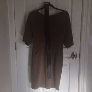 Ellen Tracy Belted Work Dress